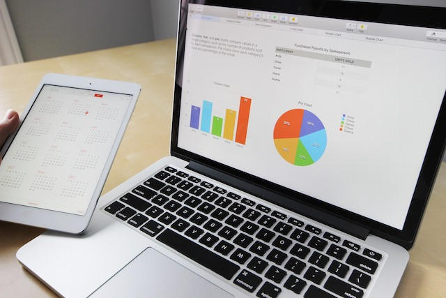 Take your business online slides and graphs