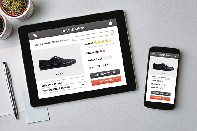take your business online commerce
