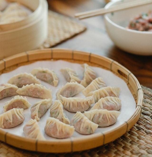 Tray of Dumplings