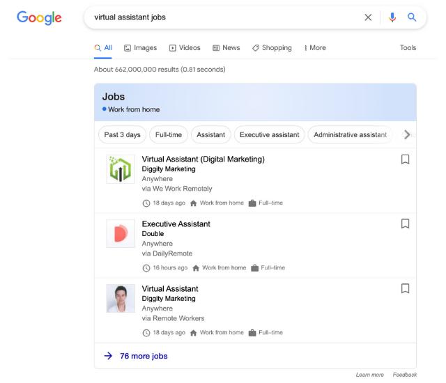 Virtual Assistant Side Hustle